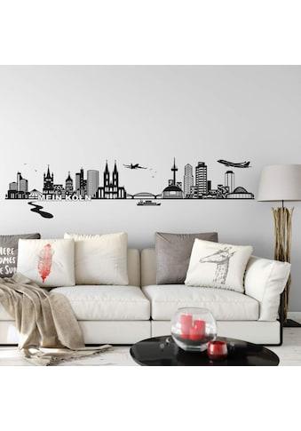 Wall-Art Wandtattoo »XXL Stadt Skyline Köln Fußball 120cm« kaufen