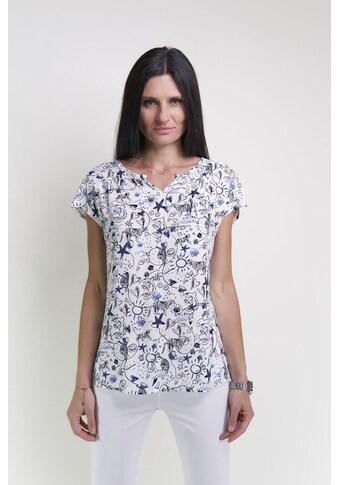 Seidel Moden Blusenshirt, mit schönem Print Made in Germany kaufen