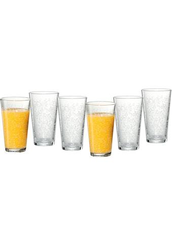 Ritzenhoff & Breker Longdrinkglas »Happy, Raindrops«, (Set, 6 tlg., 6 Longdrinkgläser,... kaufen