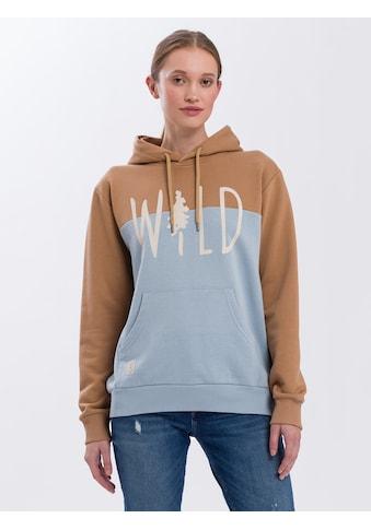 Cross Jeans® Hoodie »65251«, Hoody mit Kängurutasche kaufen