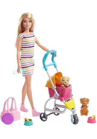 Barbie Anziehpuppe »Hunde-Buggy« kaufen