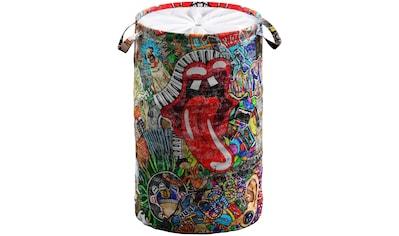 Sanilo Wäschekorb »Graffiti«, 60 Liter, faltbar, mit Sichtschutz kaufen