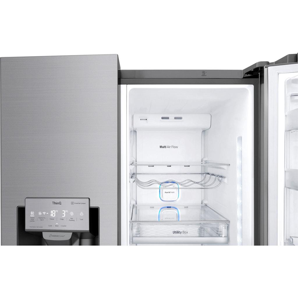 LG Side-by-Side »GSI961PZAZ«, InstaView Door-in-Door™
