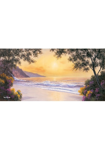 DELAVITA Kunstdruck »D. ROMANELLO / Purple and Gold«, (1 St.) kaufen
