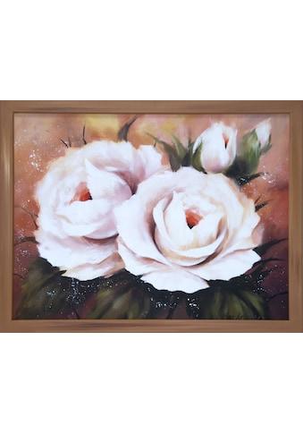 DELAVITA Bild mit Rahmen »O.KOSCHKINA / 4 Rosen«, (1 St.) kaufen