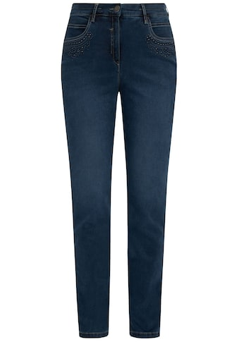 Recover Pants Straight-Jeans, mit Zierperlen kaufen