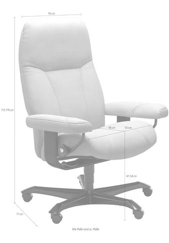 Stressless® Relaxsessel »Consul«, mit Home Office Base, Größe M, Gestell Whitewash kaufen
