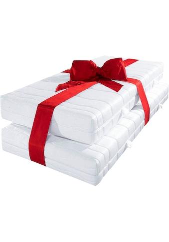 BeCo EXCLUSIV Komfortschaummatratze »November KS«, (Set, 2 St., 2-tlg.), elastisch,... kaufen