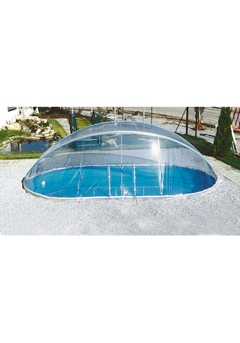 CLEAR POOL Abdeckung »Cabrio Dome«, für Pools, BxL: 360x737 cm kaufen