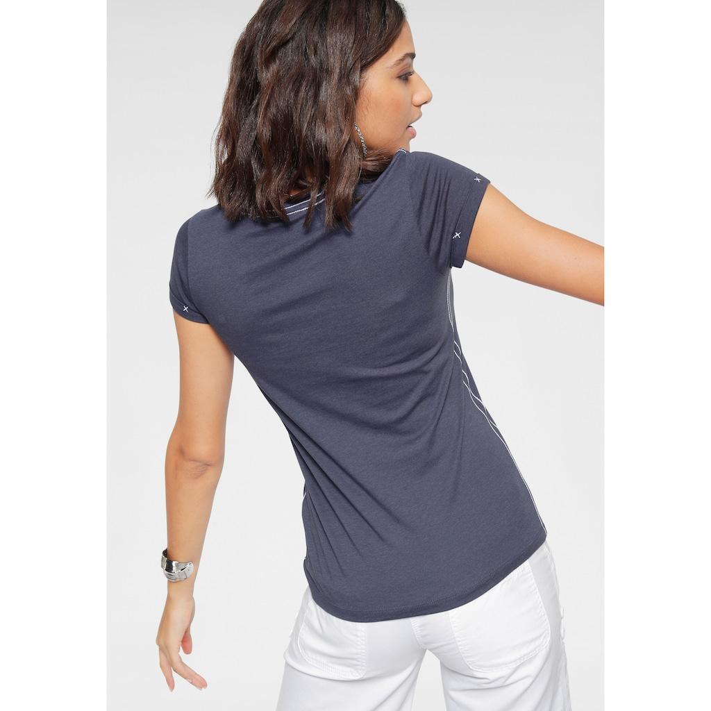 KangaROOS T-Shirt, mit auffälligem Front-Druck