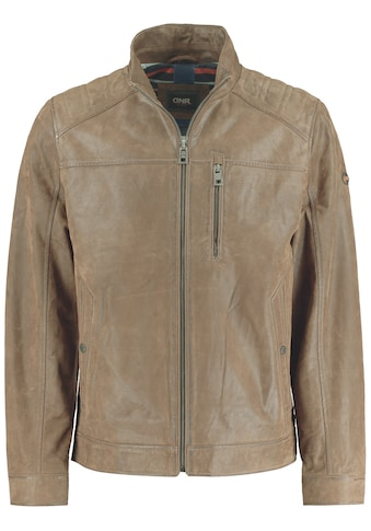 DNR Jackets Lederjacke, mit Stehkragen und Eingrifftaschen kaufen