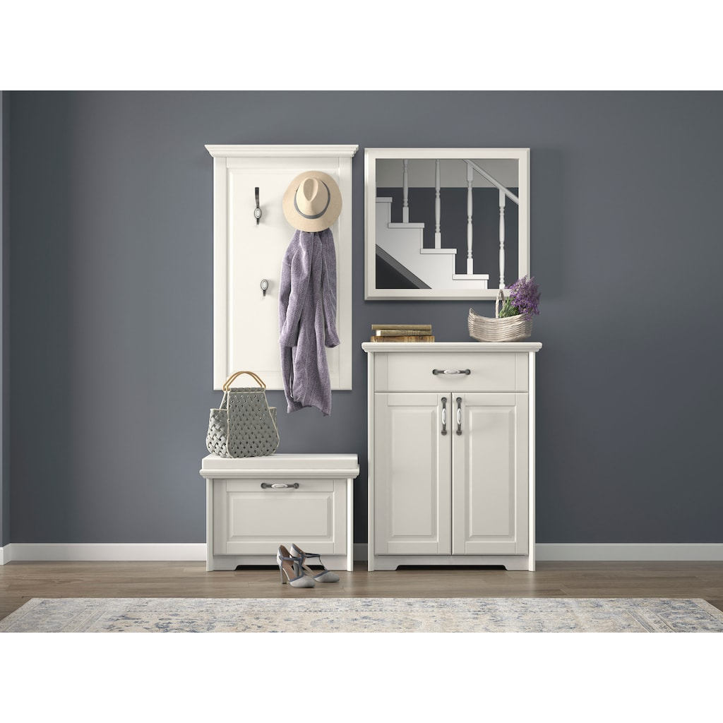 Home affaire Schuhschrank »Evergreen«, hochwertig UV lackiert, Soft-Close-Funktion