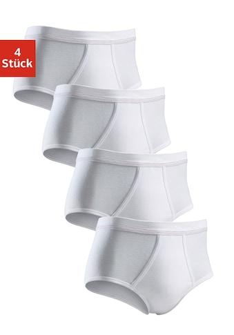 Clipper Slip, (4 St.), schlichtes Basic für jeden Tag aus Feinripp kaufen
