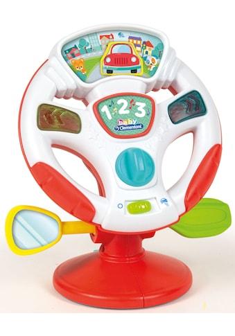 Clementoni® Lernspielzeug »Baby Clementoni - Aktivitäts-Lenkrad« kaufen