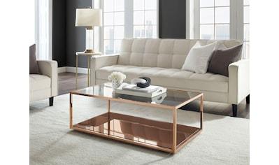 Leonique Couchtisch »Jacoby«, Elegantes Design, Ablageboden kaufen