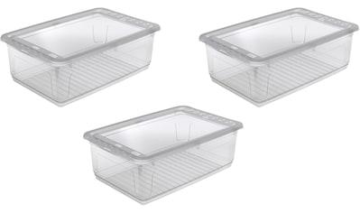 keeeper Stapelbox »bea«, (Set, 3 St.), mit Belüftungsfunktion, 30 Liter kaufen