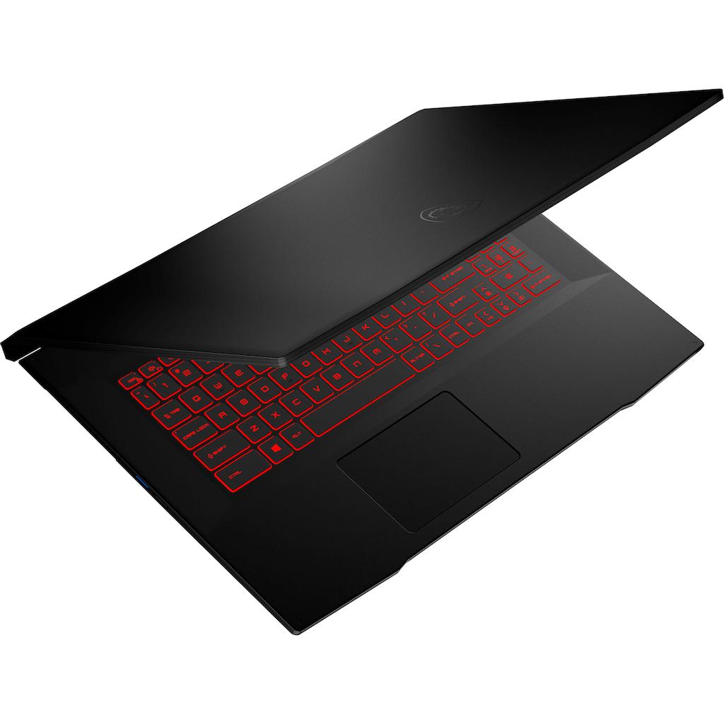 "MSI Gaming-Notebook »Katana GF76 11UE-058«, (43,9 cm/17,3 "" Intel Core i7 GeForce RTX™ 3060\r\n 1000 GB SSD), Kostenloses Upgrade auf Windows 11, sobald verfügbar"