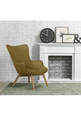 andas Sessel »Nicko«, wahlweise mit und ohne Hocker kaufen