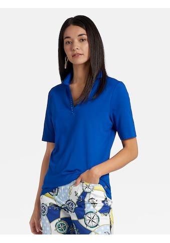 Basler Polo - Shirt mit kurzen Ärmeln und V - Ausschnitt kaufen