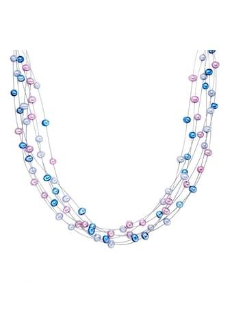 Valero Pearls Perlenkette »A1499«, (1 tlg.), aus Süßwasser-Zuchtperlen kaufen
