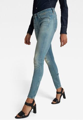 G-Star RAW Skinny-fit-Jeans »3301 Mid Skinny Jeans«, figurbetonte Anordnung der... kaufen