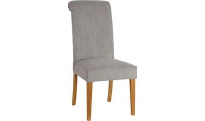 Home affaire Esszimmerstuhl »Rysum«, 2er-Set, mit gepolsteter Sitzfläche, und gesteppter Rückenlehne kaufen