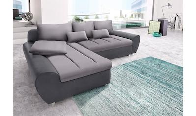 sit&more Ecksofa »Bandos«, in 2 unterschiedlichen Größen, wahlweise mit Bettfunktion kaufen