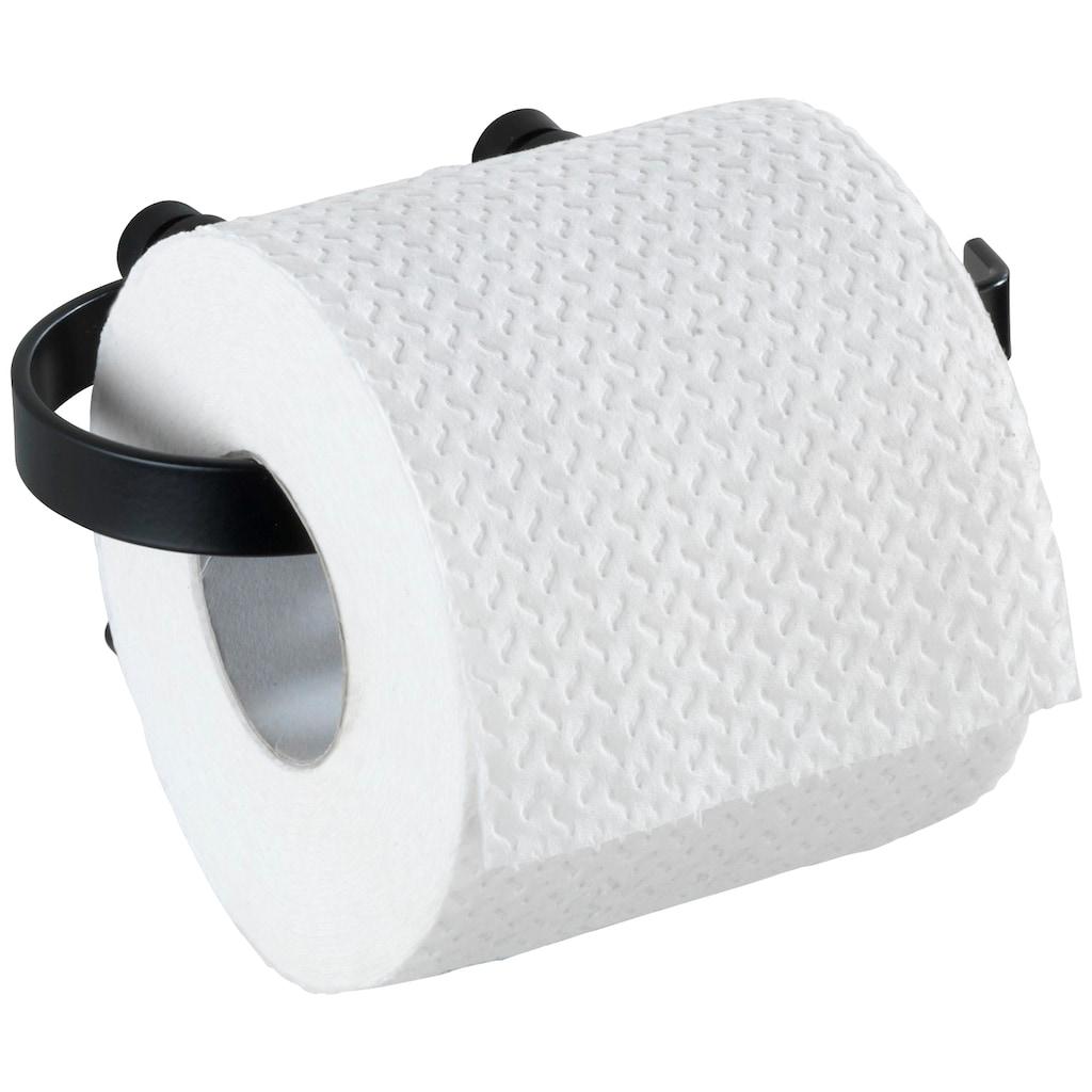 WENKO Toilettenpapierhalter »Classic Plus Black«
