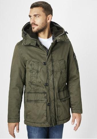 S4 Jackets Outdoorjacke »Alaska«, Herren Winterjacke aus Baumwolle kaufen