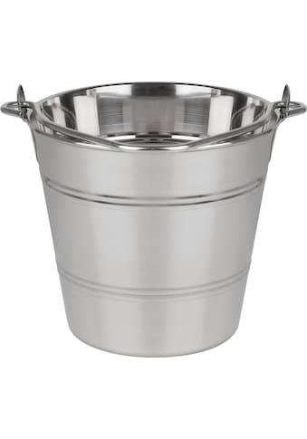 GSW Wein- und Sektkühler »Eimer«, hochwertige Qualität, 6 Liter, rostfrei kaufen