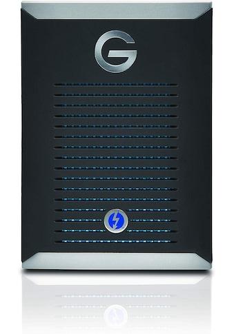G-Technology G-DRIVE Mobile Pro SSD mit Thunderbolt 3 kaufen