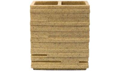 RIDDER Zahnbürstenhalter »Brick«, BxH: 10x11 cm kaufen