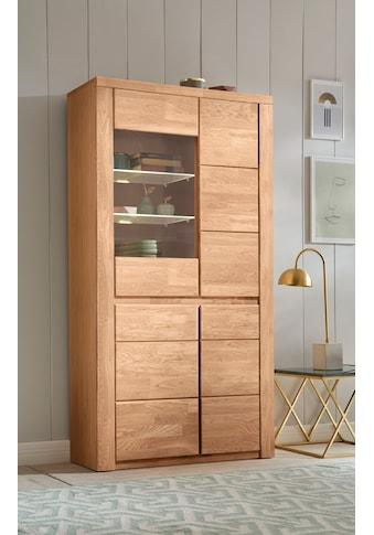 Premium collection by Home affaire Vitrine »Burani«, grifflose Optik kaufen