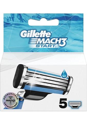 """Gillette Rasierklingen """"Mach3 Start"""", 5 - tlg. kaufen"""