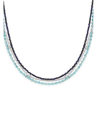 LEONARDO Edelstahlkette »Lidera, 021324«, mit Kristallglas kaufen