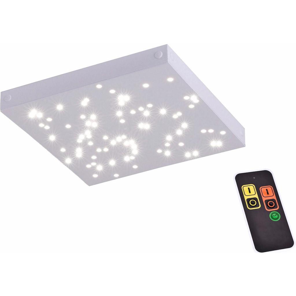 Paul Neuhaus Deckenleuchte »UNIVERSE«, LED-Modul, Neutralweiß-Warmweiß-Tageslichtweiß-Warmweiß, SATELLITE-(Ergängungs-Panel zum MASTER), inklusive festverbauten LED-Leuchtmitteln, inklusive 60 cm Kabel zum Verbinden von weiteren Leuchten