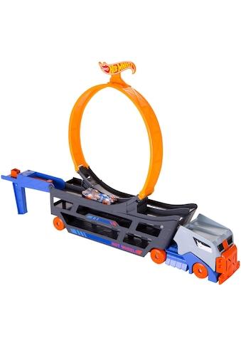 "Hot Wheels Spielzeug - Transporter ""Stunt 'n Go Transporter & Trackset"" kaufen"