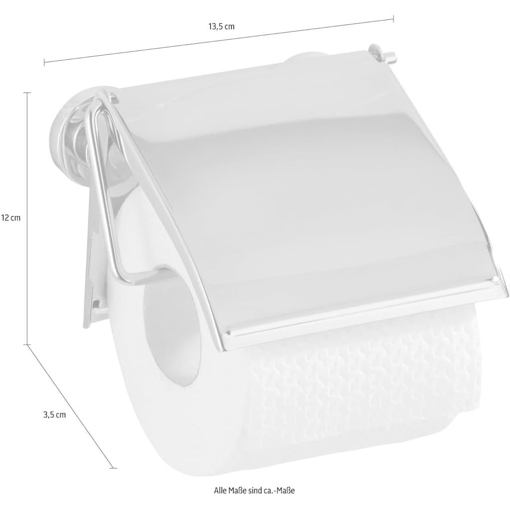 WENKO Toilettenpapierhalter »Cover«, Power-Loc