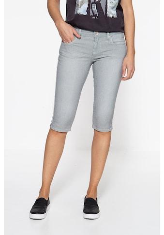 ATT Jeans Caprijeans »Belinda«, mit feinem Längsstreifenmuster kaufen