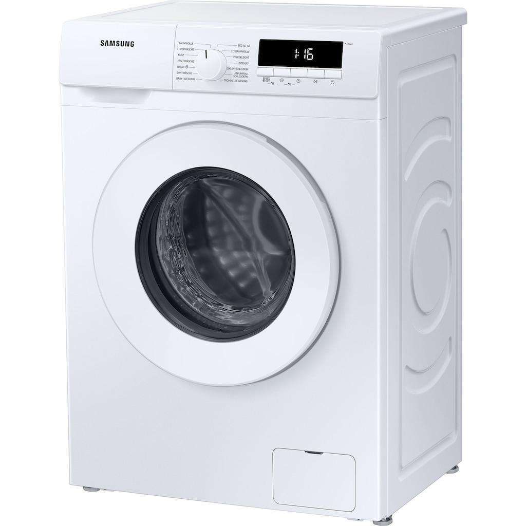 Samsung Waschmaschine »WW70T304PWW«, WW70T304PWW, 7 kg, 1400 U/min, SLIM Platzsparer – nur 44 cm tief