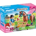 Playmobil® Konstruktions-Spielset »Mädchen mit Pony (70060), Special Plus und Geschenkset Reiterhof (70294), Country«, (Set, 2 St.), ; Made in Germany