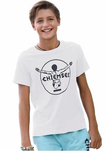 Chiemsee T-Shirt »mit Logo« kaufen