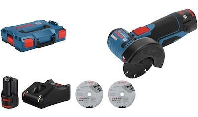 BOSCH PROFESSIONAL Akku - Winkelschleifer »GWS 12V - 76«, 12 V, inkl. Akku und Ladegerät kaufen