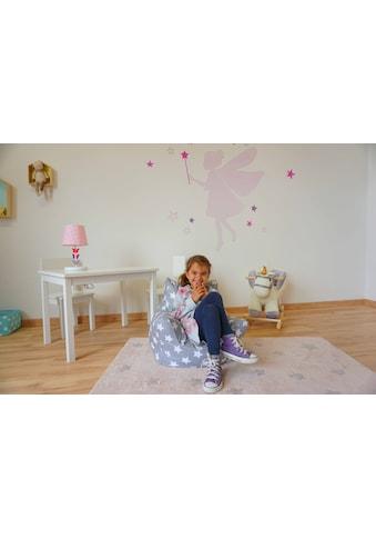 Knorrtoys® Sitzsack »Grey White Stars«, für Kinder; Made in Europe kaufen