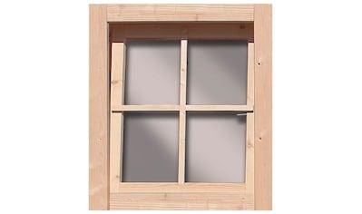 KARIBU Fenster BxT: 69x79 cm, 28 mm kaufen