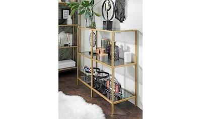 Paroli Sideboard »Regal«, Grauglas kaufen