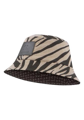 Codello Fischerhut, mit trendigem Tigermuster aus Canvas kaufen
