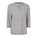 Olsen Sweatshirt, mit maritimem Muster