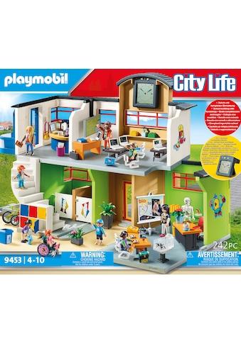 Playmobil® Konstruktions-Spielset »Große Schule mit Einrichtung (9453), City Life«, (242 St.), ; Made in Germany kaufen
