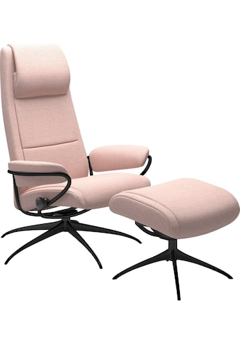 Stressless® Relaxsessel »Paris«, mit Hocker, High Back, mit Star Base, Gestell Schwarz kaufen